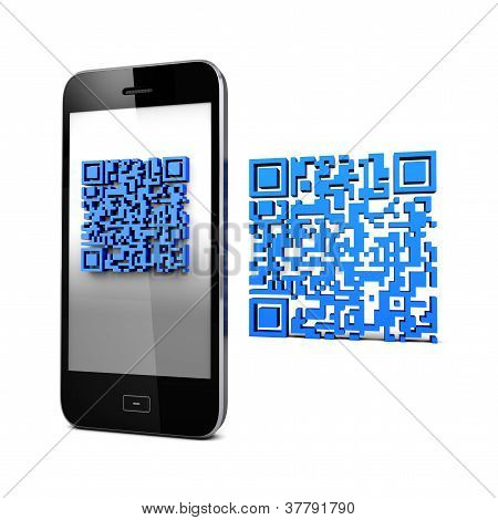 Qrcode And Mobile Phone