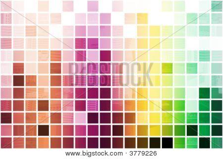 colorful vereinfachend und minimalistischen abstract