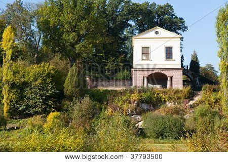 A Roman Villa In The Park At The Ilm In Weimar