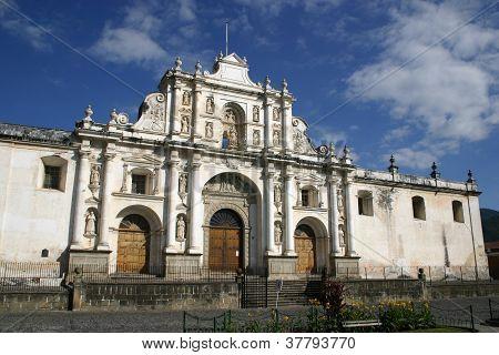 A Spanish colonial church