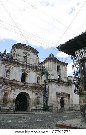 Colonial church, Antigua, Guatemala