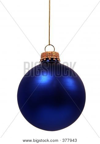 Blue Christmas Tree Decoration