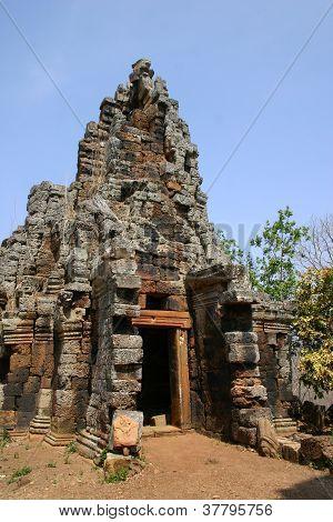 Cambodiain temple, Battambang Cambodia
