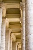 Columns Of Saint Peters Square