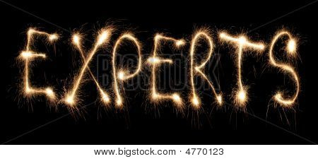 Word Experts Written Sparkler