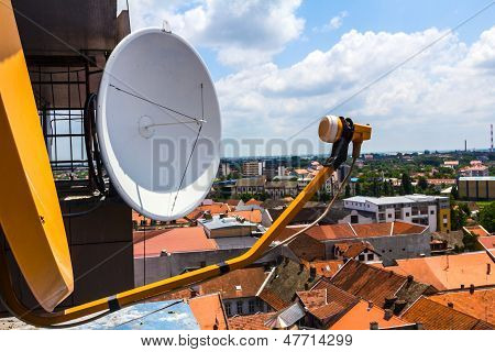 Modern satellite receiver