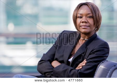 Black African American Business Woman