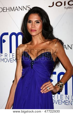 LOS ANGELES - JUL 1:  Joyce Giraud arrives at the Friend Movement Anti-Bullying Benefit Concert at the El Rey Theater on July 1, 2013 in Los Angeles, CA