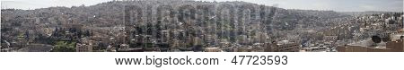 Panorama of Amman Jordan