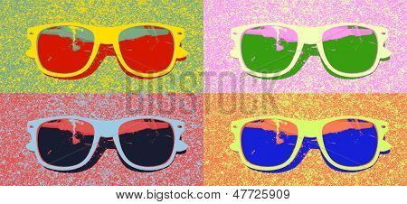 Pop Art Sunglasses