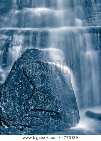 Blue Falling Water