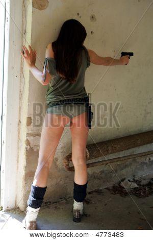 Policegirl With A Gun