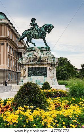 Statue Eugene Of Savoy, Buda Castle