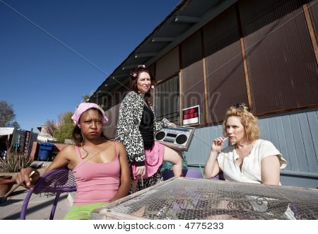 Three Trashy Women