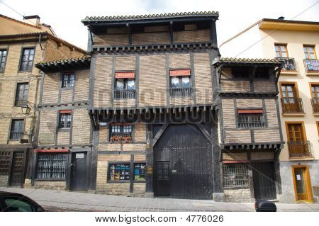 Portalon Old Building At Vitoria