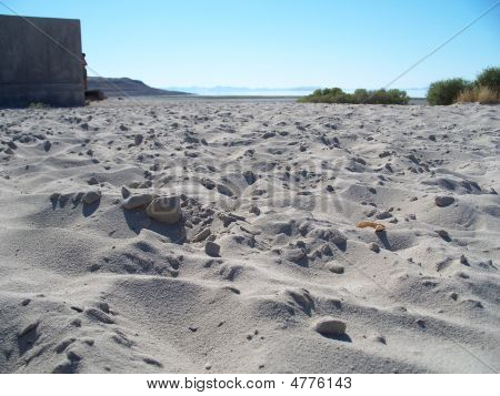 Beach At Antelope Island