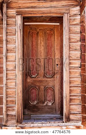Old weathered door.