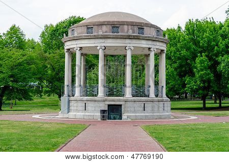 Bandstand At The Boston Common Central Park