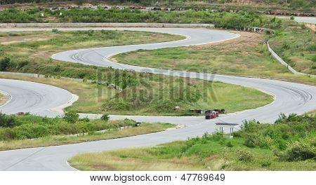 Racing Car Track