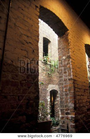 Brick Passage Way