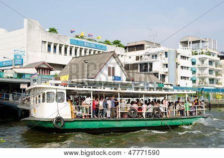 River Transportation In Bangkok