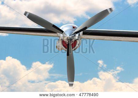 Airplane Propeller Engine