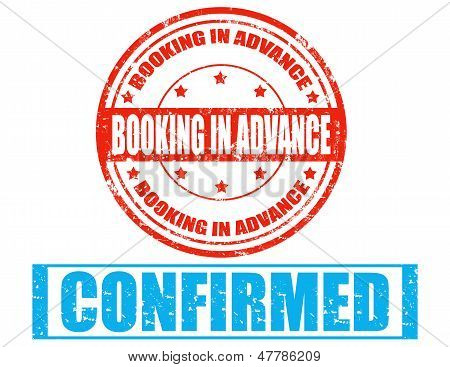 Booking In Advance-stamp