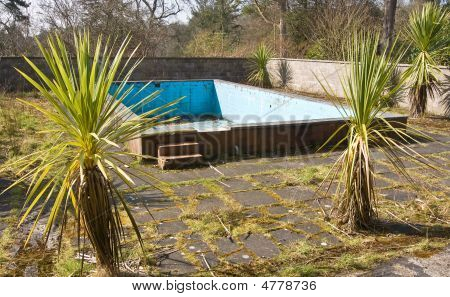 Old Derelict Swimming Pool