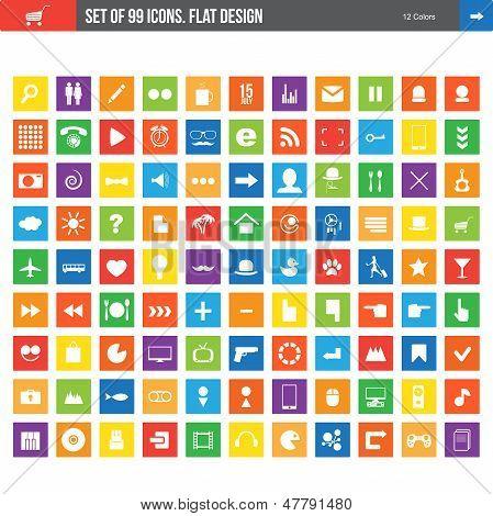 99 icons
