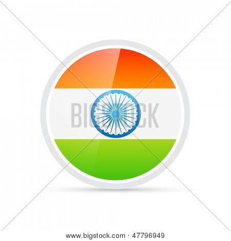 vector tri color indian flag