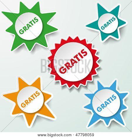 Star Labels Gratis