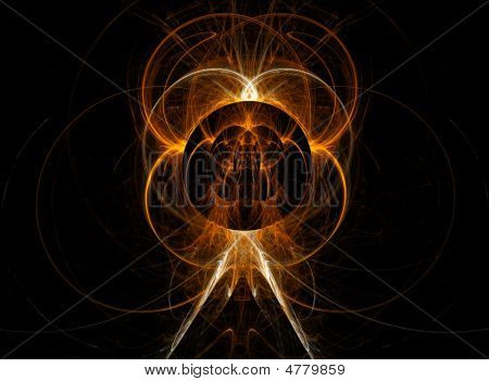Abstract Background With  Flame.