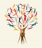 Diversity People Tree Set