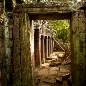 stock photo of rep  - Angkor Wat complex - JPG