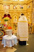 Orthodoxal Priest  In Church