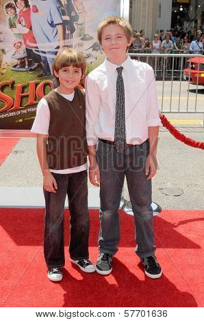 Preston Bailey and Brennan Bailey  at the Los Angeles Premiere of 'Shorts'. Grauman's Chinese Theatre, Hollywood, CA. 08-15-09