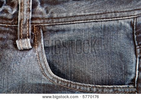 Photo Of A Pocket Jeans