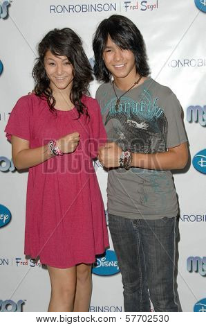 BooBoo Stewart at the Myzos Launch Party. Fred Segal, Santa Monica, CA. 08-22-09
