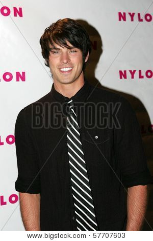 Adam Gregory at the Nylon Magazine TV Issue Party. Skybar, West Hollywood, CA. 08-24-09