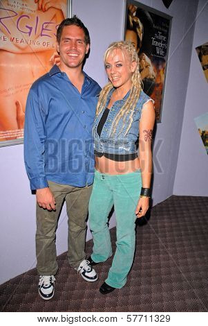 Brad T. Gottfred and Tonya Kay at the dual screenings of