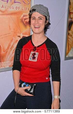 Katherine Carlson  at the dual screenings of