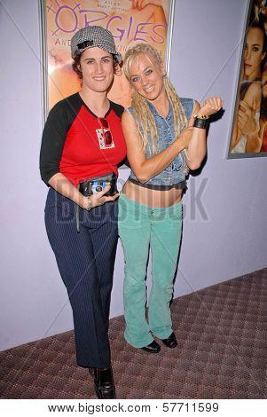 Katherine Carlson and Tonya Kay at the dual screenings of