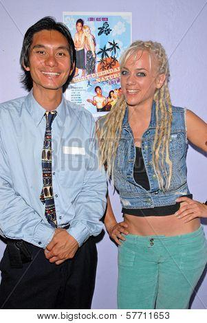 Tony Young and Tonya Kay at the dual screenings of