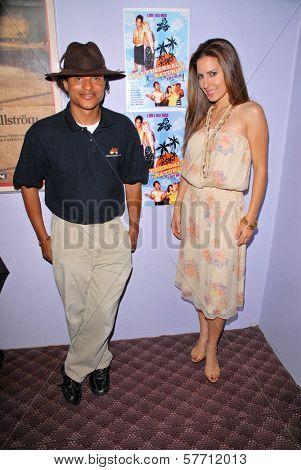 Clinton H. Wallace and Kerri Kasem at the dual screenings of