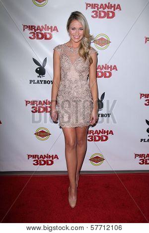 Katrina Bowden at the