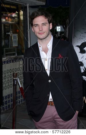 Sam Claflin at a screening of