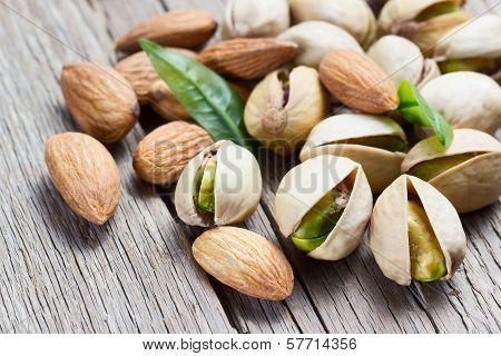Almond And Pistachio