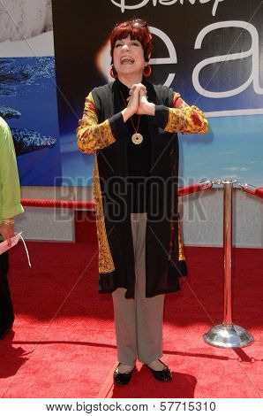 Jo Anne Worley at the World Premiere of 'Earth'. El Capitan Theatre, Hollywood, CA. 04-18-09