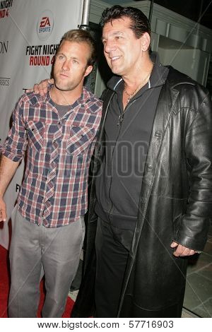 Scott Cann and Chuck Zito  at the Los Angeles Premiere of 'Tyson'. Pacific Design Center, West Hollywood, CA. 04-16-09