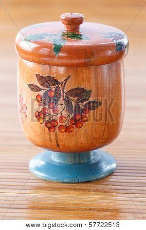 Wooden Jar Style Decoupage
